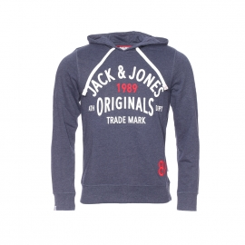 Sweat à capuche Jack&Jones bleu marine