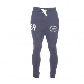 Pantalon de jogging Jack&Jones en coton bleu marine