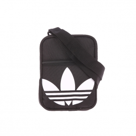 Petite Saccoche Adidas en tissu noir