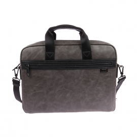 Porte-documents Chabrand en simili cuir gris