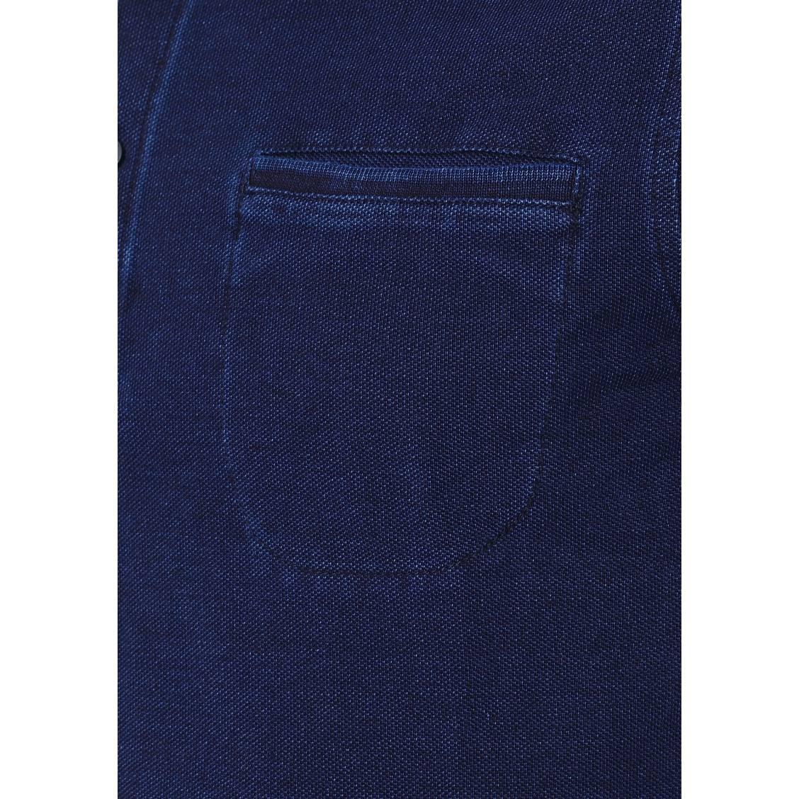 Polo slim fit Tommy Hilfiger en coton piqué bleu foncé