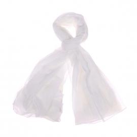 Chèche Harris Wilson Tim en coton blanc