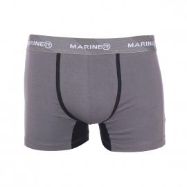 Boxer Mariner en coton gris foncé