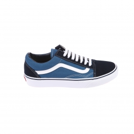 Baskets Old Skool Vans en toile bleue à empiècement en daim bleu marine