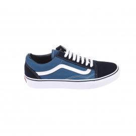Baskets Old Skool Vans en toile bleue à empiècement en daim bleu marine