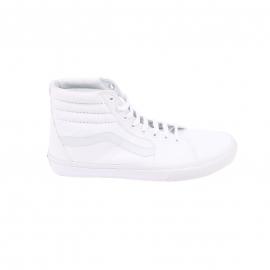 Baskets hautes SK8-HI Vans en toile blanche