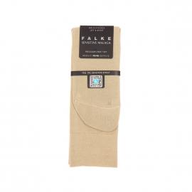 Chaussettes Sensitive Malaga Falke en fil d'écosse sable
