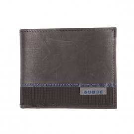 Portefeuille italien Guess bi-matière et bicolore