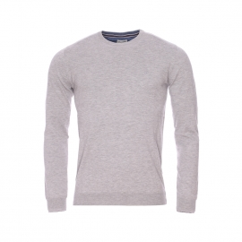 Pull col rond Wrangler gris chiné