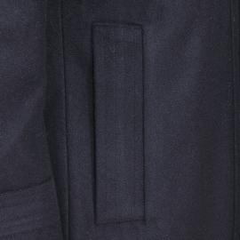 Manteau Best Mountain en laine mélangée noire à col doublé