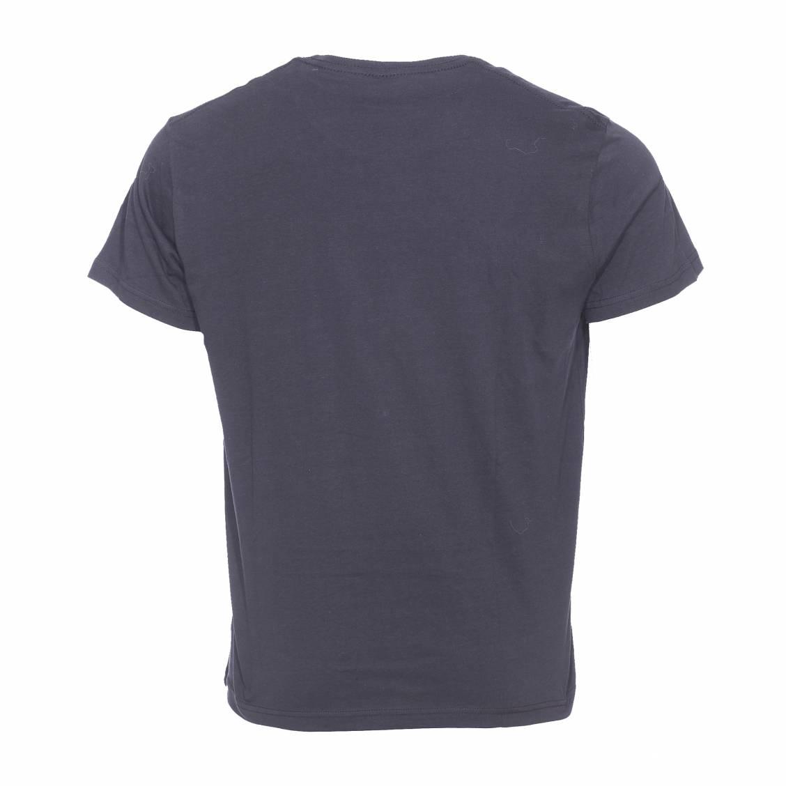 lot de 2 tee shirts col rond wrangler en coton blanc et. Black Bedroom Furniture Sets. Home Design Ideas