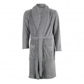 Robe de chambre polaire Eminence gris clair