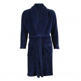 Robe de chambre polaire Eminence bleu marine
