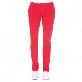 Pantalon chino Gianni Ferrucci rouge