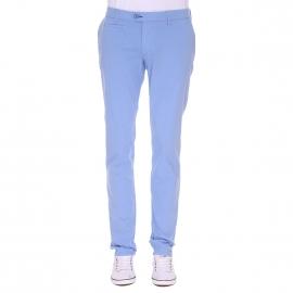 Pantalon chino Gianni Ferrucci bleu lavande