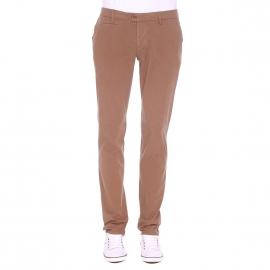 Pantalon chino Gianni Ferrucci marron
