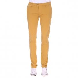 Pantalon chino Gianni Ferrucci jaune safran