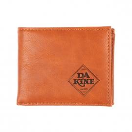 Portefeuille Dakine Rufus en vinyle marron