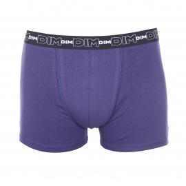 Lot de 3 boxers Dim en coton stretch gris ardoise, bleu nuit et vert foncé