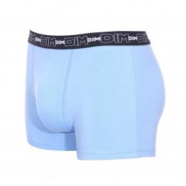 Lot de 3 boxers Dim en coton stretch bleu nuit, bleu pastel et noir