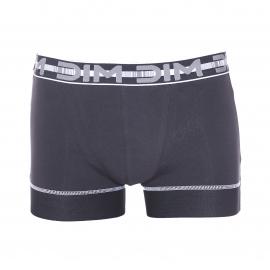 Lot de 2 boxers Dim 3D Stay and Fit en coton stretch noir
