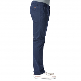 Pantalon Alpha Khaki Original Slim Tapered Dockers en twill bleu marine
