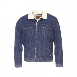 blouson en jean homme rue des hommes acheter une veste en jean de marque pour homme. Black Bedroom Furniture Sets. Home Design Ideas