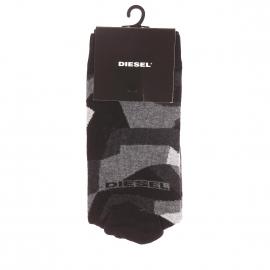 Chaussettes Diesel à motifs effet camouflage noirs, gris foncé et gris clair