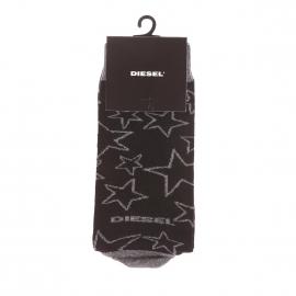 Chaussettes Diesel noires à motifs étoiles grises