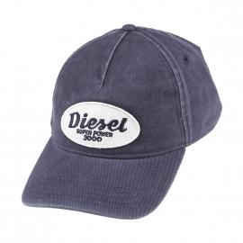 Casquette Diesel en coton bleu marine