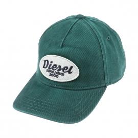 Casquette Diesel en coton vert