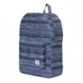 Sac à dos Herschel Classic à motifs dégradés noirs, bleu gris et blancs