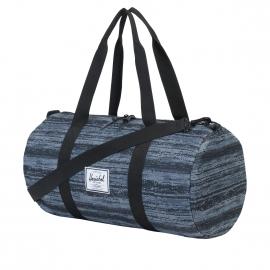 Sac polochon Herschel Sutton Mid Volume à motifs dégradés de noir, gris bleu et blanc