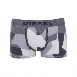 Boxer Diesel Seasonal à motif camouflage gris