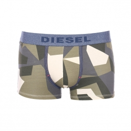 Boxer Diesel Seasonal à motif camouflage kaki