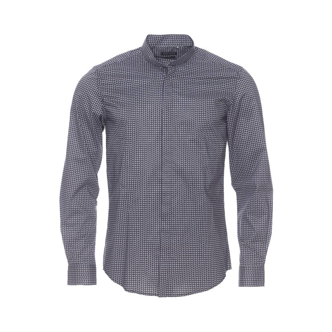 chemise col mao homme jusqu 85 soldes deuxi me d marque. Black Bedroom Furniture Sets. Home Design Ideas