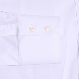 Chemise extra slim Antony Morato blanche aspect satiné
