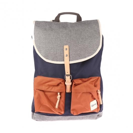 sac dos hammerhead eastpak bleu marine et gris clair. Black Bedroom Furniture Sets. Home Design Ideas