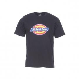 Tee-shirt col rond Dickies en coton noir floqué du logo