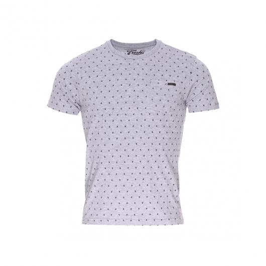 Tee shirt col rond the fresh brand en coton gris chin for Fresh brand t shirts