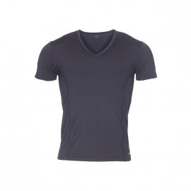 Tee-shirt col V Impetus Sport Airflow Ergonomic en polyamide stretch noir