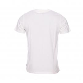 Tee-shirt col rond Chevignon en coton écru à imprimé