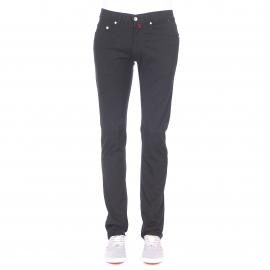 Pantalon ajusté Pierre Cardin noir