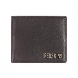 Portefeuille italien Redskins Basile en cuir noir