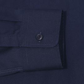 Chemise cintrée Chevignon en coton bleu marine