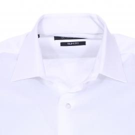 Chemise cintrée Gianni Ferrucci en coton blanc