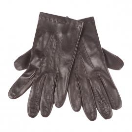 Gants Glove Story en cuir d'agneau marron