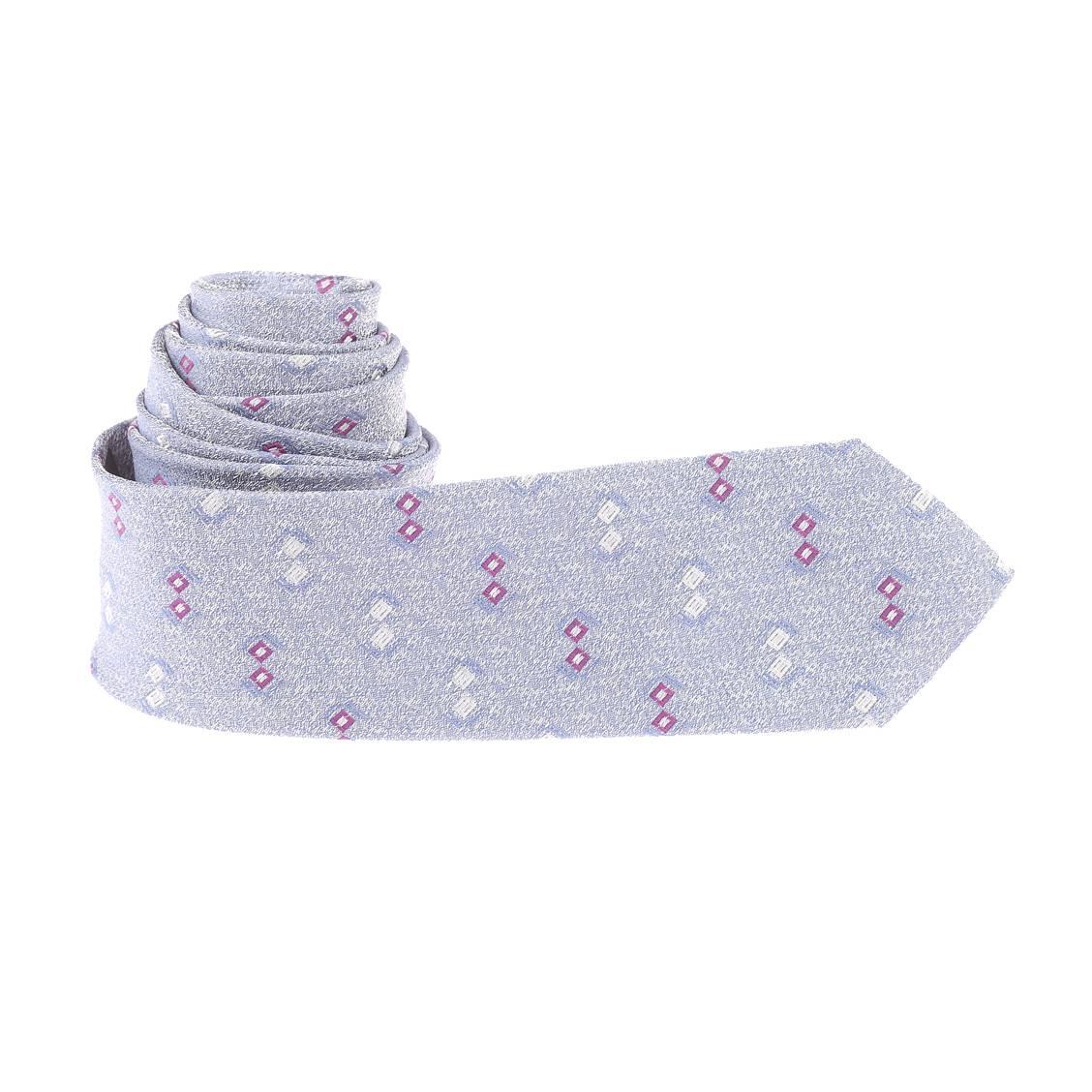 cravate-slim-bleu-chine-de-blanc-a-motifs-prune-et-gris