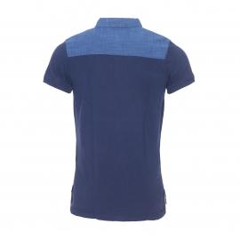 Polo Hilfiger Denim en piqué de coton bleu indigo