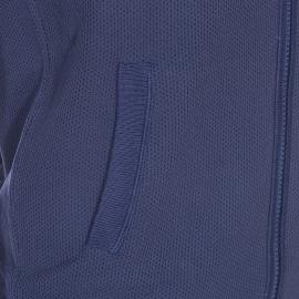 Sweat zippé Hilfiger Denim bleu marine, coupe bomber
